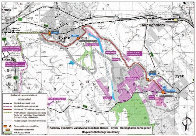 felcsúti kisvasút térkép Kilencmilliárdba kerülhet az Etyek Bicske Felcsút kisvasút | Hírek